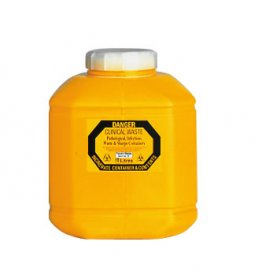 Sharps Container 10.0 litre Non-spill screw top lid
